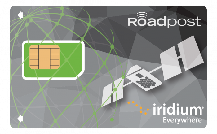 Iridium GO Prepaid Cards for voice and Text SMS by Roadpost