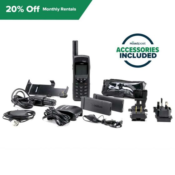 Save 20% Off Satellite Phone Rentals, Model: Iridium 9555, Rental Term: Monthly