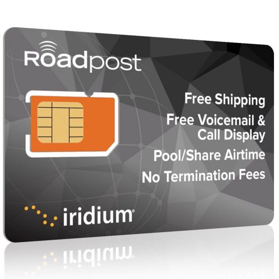 Iridium GO Plans by Roadpost