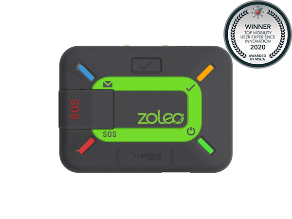 Iridium-based ZOLEO satellite communicator awarded Top Mobility User Experience Innovation by MSUA