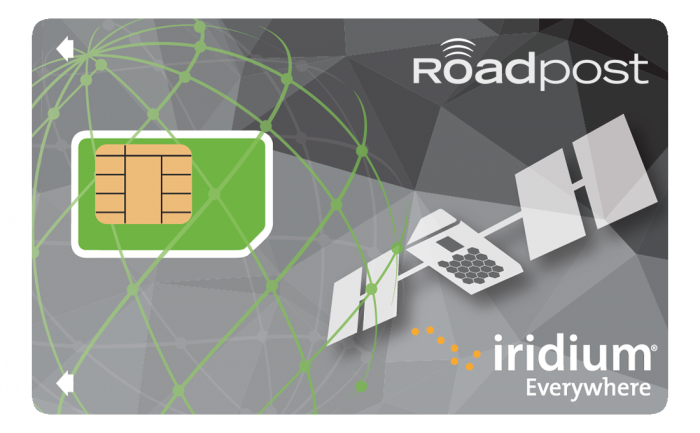 Iridium GO! Prepaid SIM cards for voice and Text SMS by Roadpost