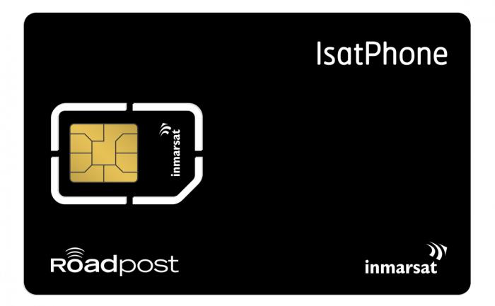 Isatphone Monthly satellite phone plan