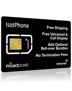 IsatPhone Monthly Airtime Plan - SIM Card