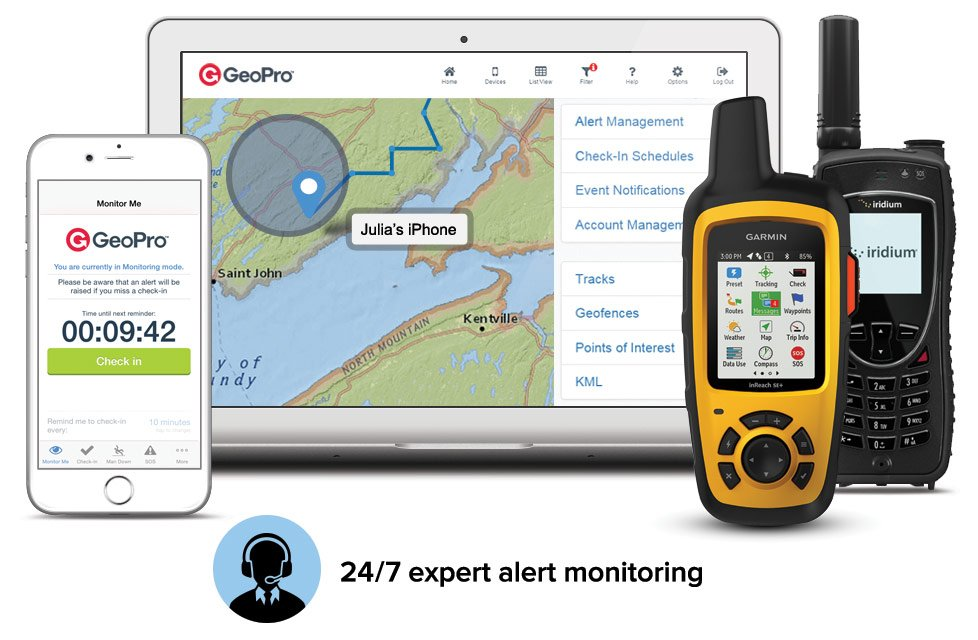 GeoPro Lone Worker Safety App and Devices