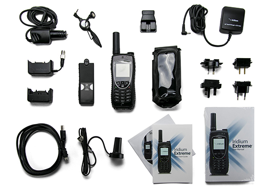 Iridium Extreme Satellite Phone Complete Kit