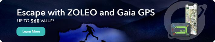 ZOLEO & Gaia GPS Promo