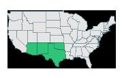 Texas + New Mexico + Arizona + Oklahoma